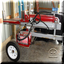Log splitter, 22 ton 8HP Honda