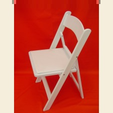 Chair, deluxe folding