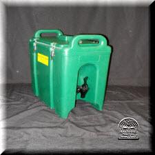 Beverage cooler, green