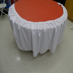 Skirting, tables (by foot)