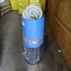 Blower, cellulos insulation