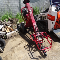 Post hole digger, towable