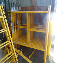 Scaffold section