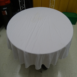 Table cloth, round linen